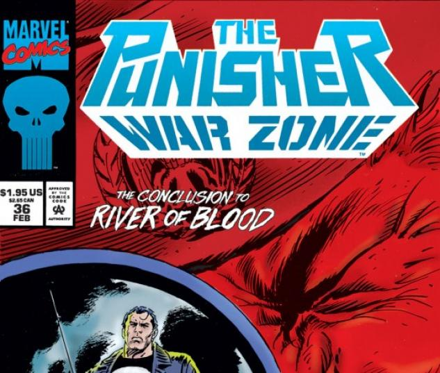 THE PUNISHER: WAR ZONE #36