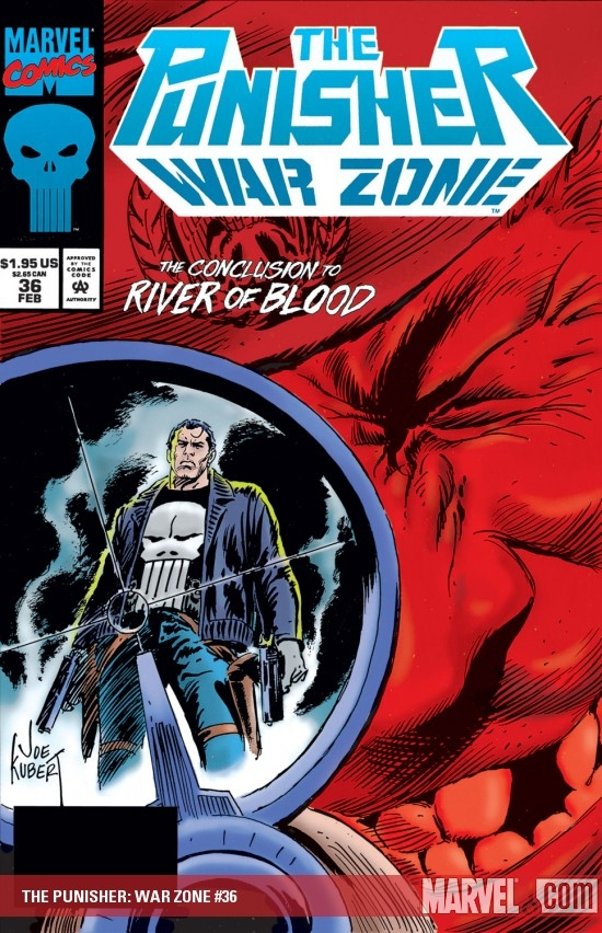The Punisher War Zone (1992) #36