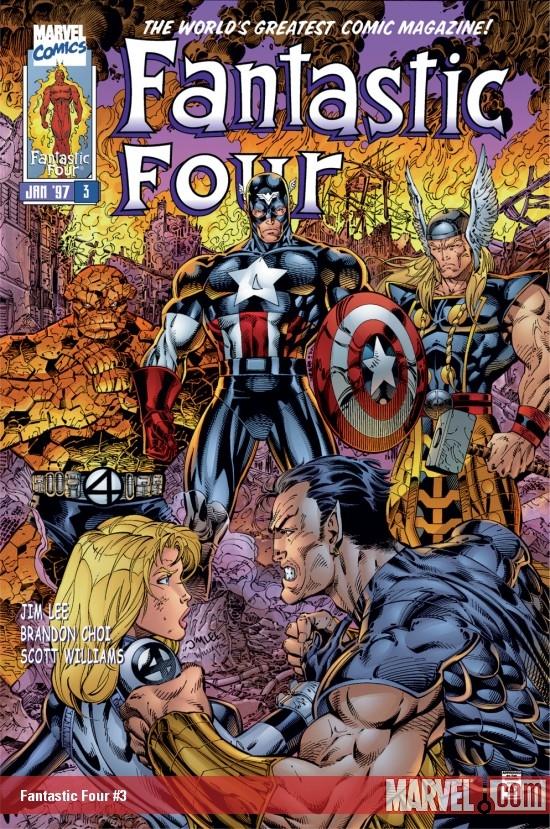 Fantastic Four (1996) #3