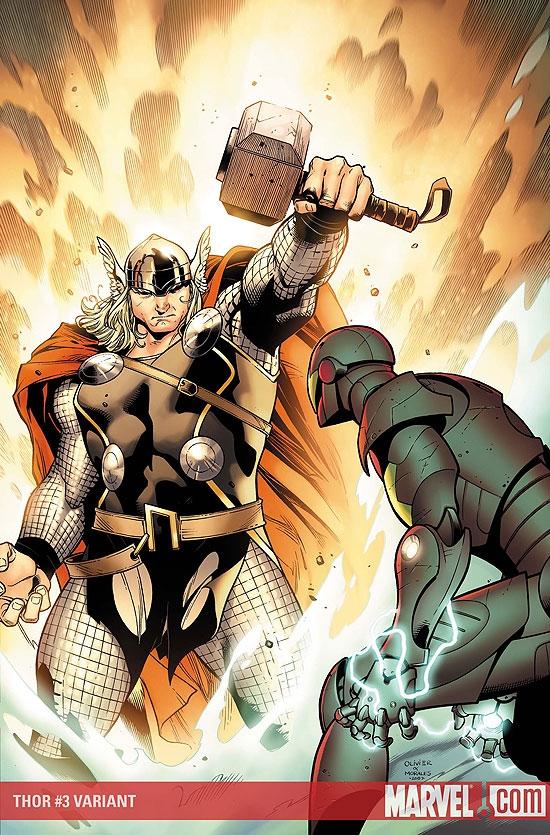 Thor (2007) #3 (Variant)