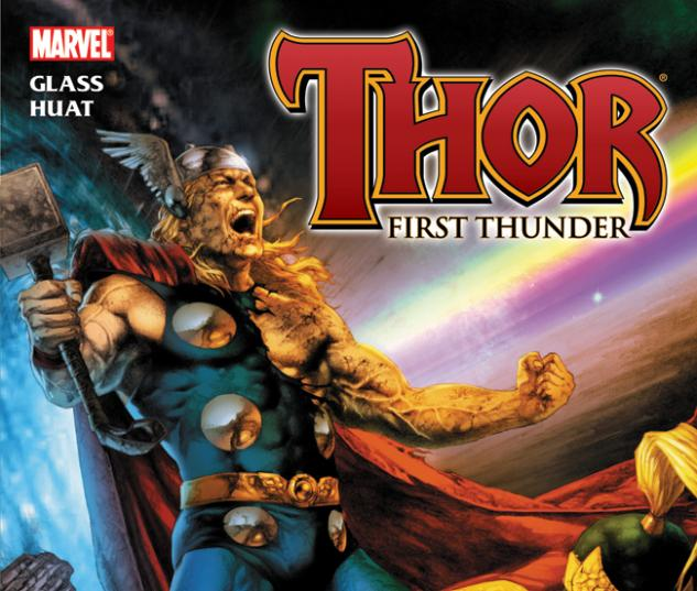 THOR: FIRST THUNDER TPB cover by Jay Anacleto