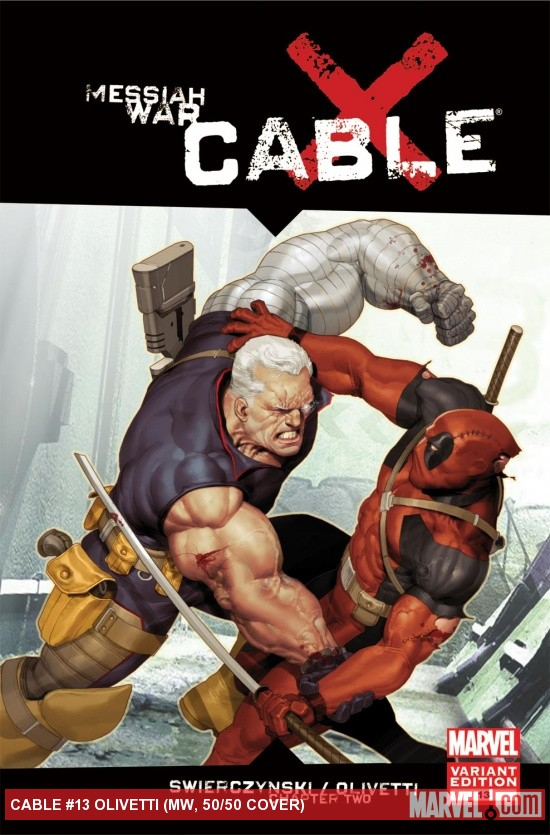 Cable (2008) #13 (MW, 50/50 Variant)