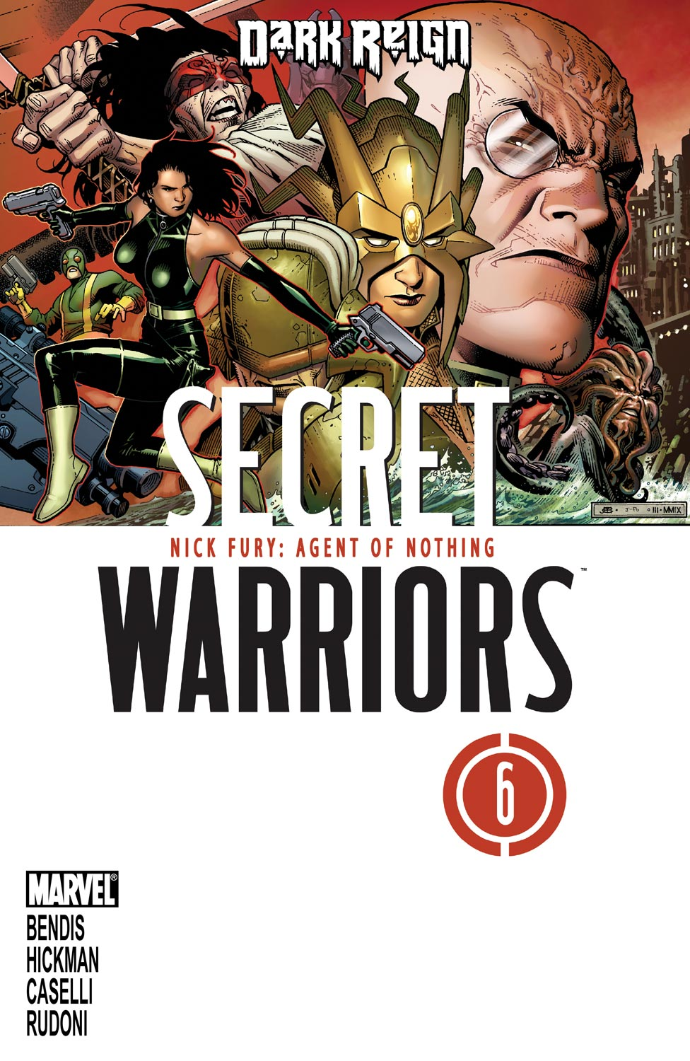 Secret Warriors (2009) #6