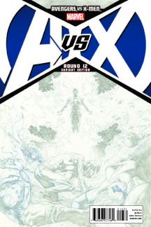 Avengers Vs. X-Men (2012) #12 (Opena Sketch Variant)
