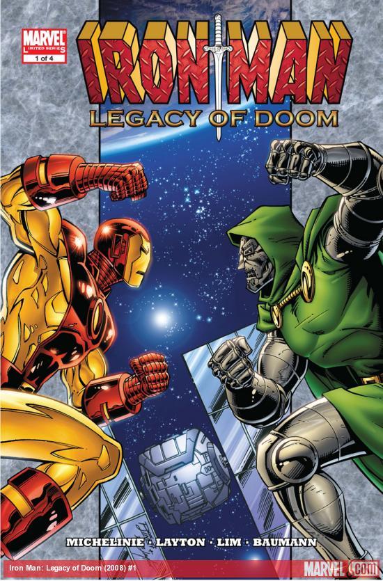 Iron Man: Legacy of Doom (2008) #1
