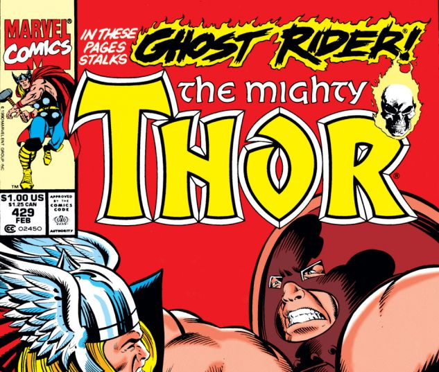 Thor (1966) #429 Cover