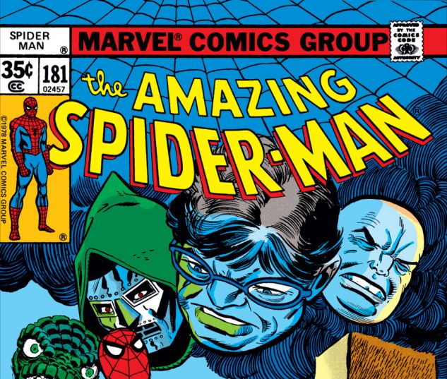 Amazing Spider-Man (1963) #181 Cover