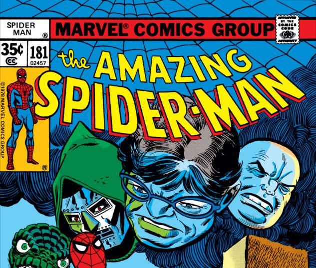 Amazing Spider-Man (1963) #181 Cover