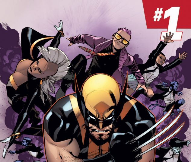 Wolverine & The X-Men (2014) #1 cover by Mahmud Asrar
