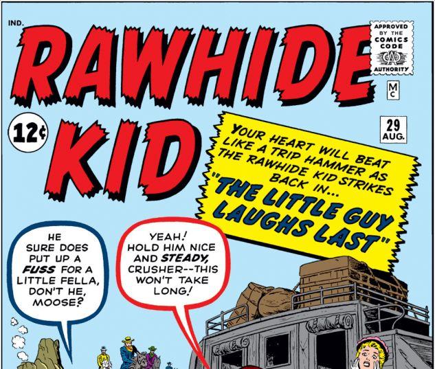 Rawhide Kid (1960) #29 Cover