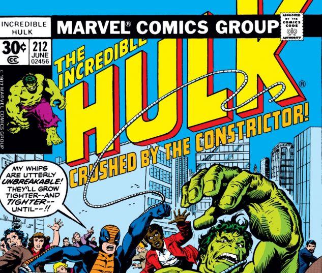 Incredible Hulk (1962) #212 Cover