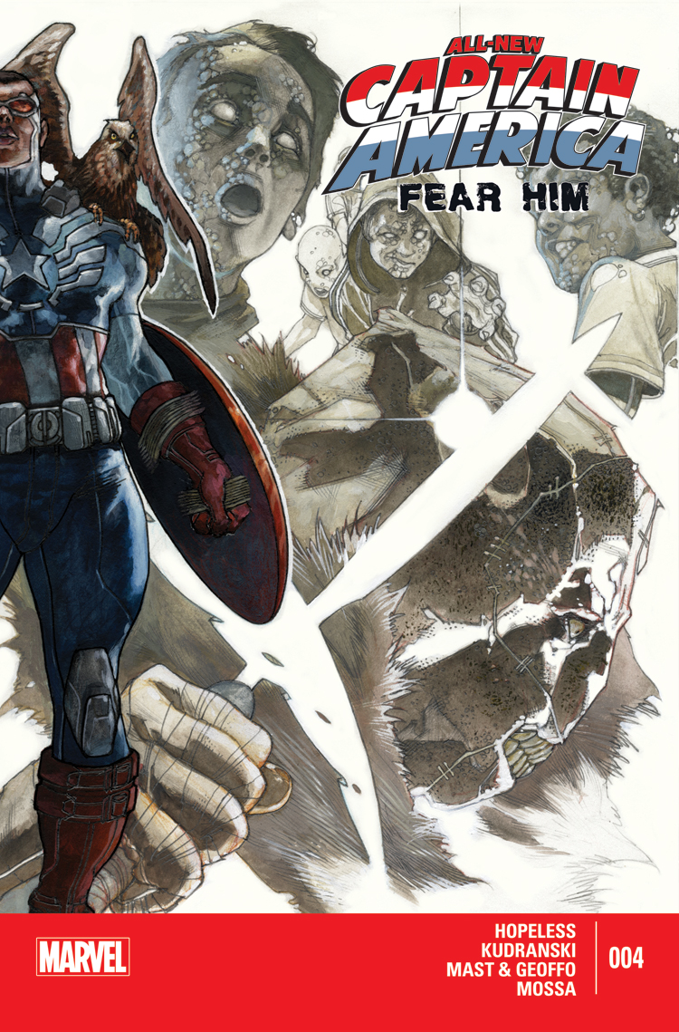 All-New Captain America: Fear Him (2015) #4