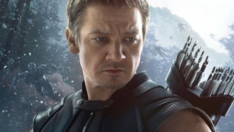 Hawkeye Prepares for Battle in Marvel's Avengers: Age of Ultron, hitting theaters May 1