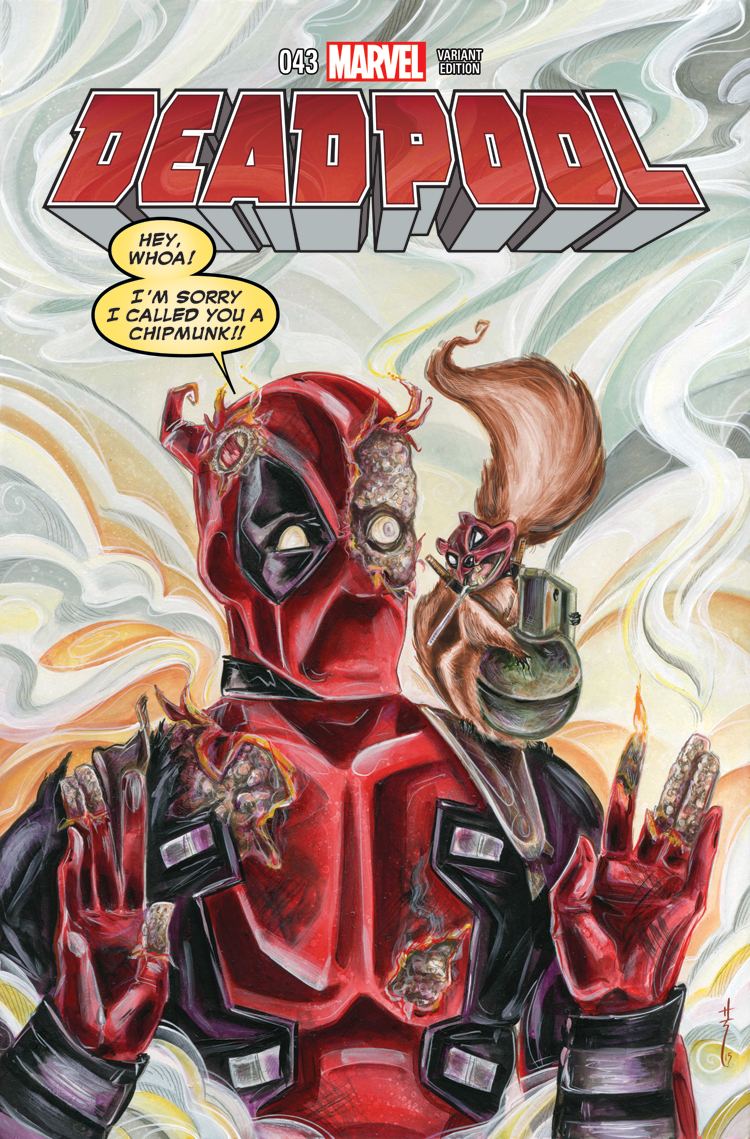 Deadpool (2012) #43 (Richard Wom Variant)