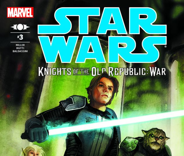 Star Wars: Knights Of The Old Republic - War (2012) #3