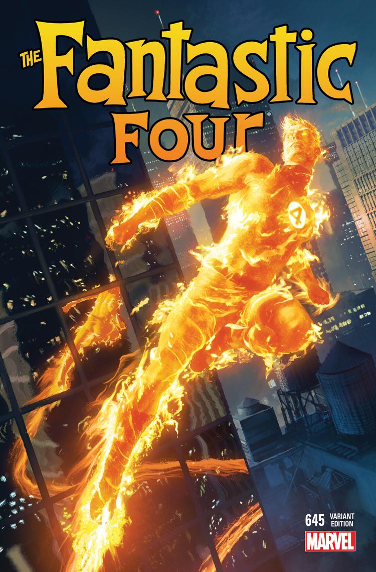 Fantastic Four (2014) #645 (Komarck Spotlight Variant)