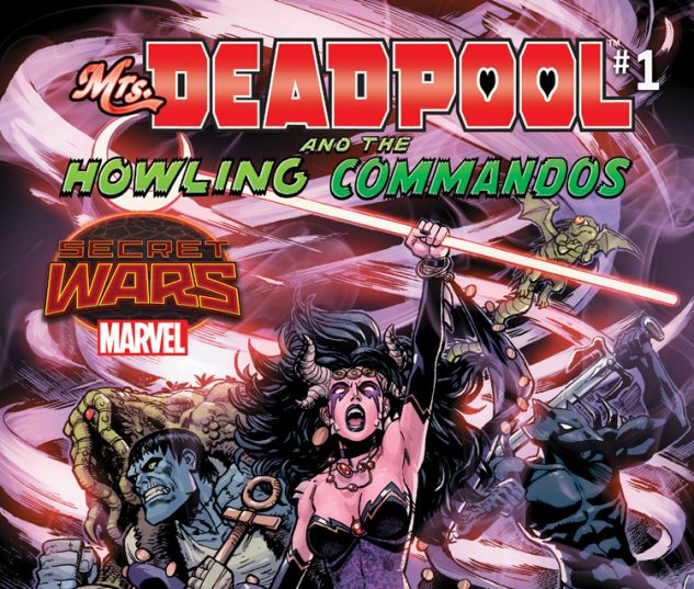 MRS. DEADPOOL AND THE HOWLING COMMANDOS 1 (SW, WITH DIGITAL CODE)