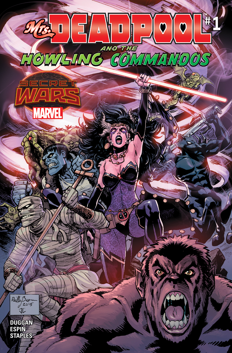 Mrs. Deadpool and the Howling Commandos (2015) #1