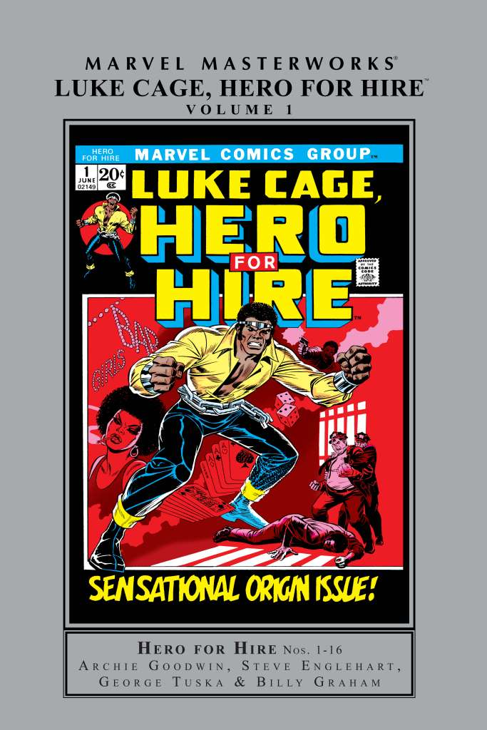 MARVEL MASTERWORKS: LUKE CAGE, HERO FOR HIRE VOL. 1 HC (Hardcover)