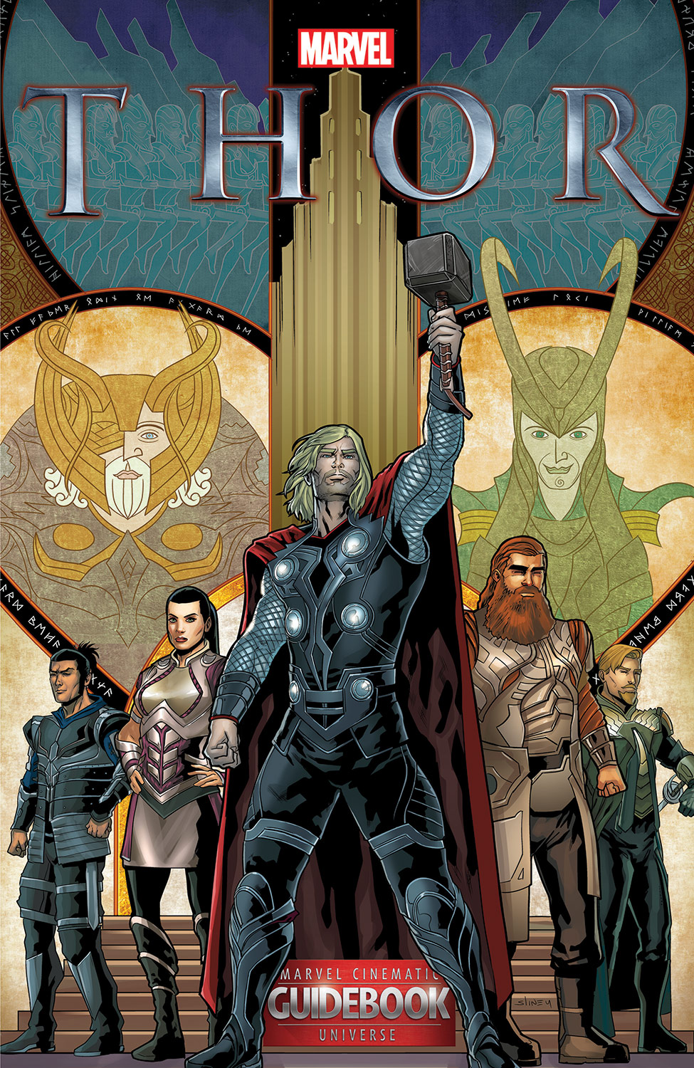 Guidebook to the Marvel Cinematic Universe - Marvel's Thor (2015) #3