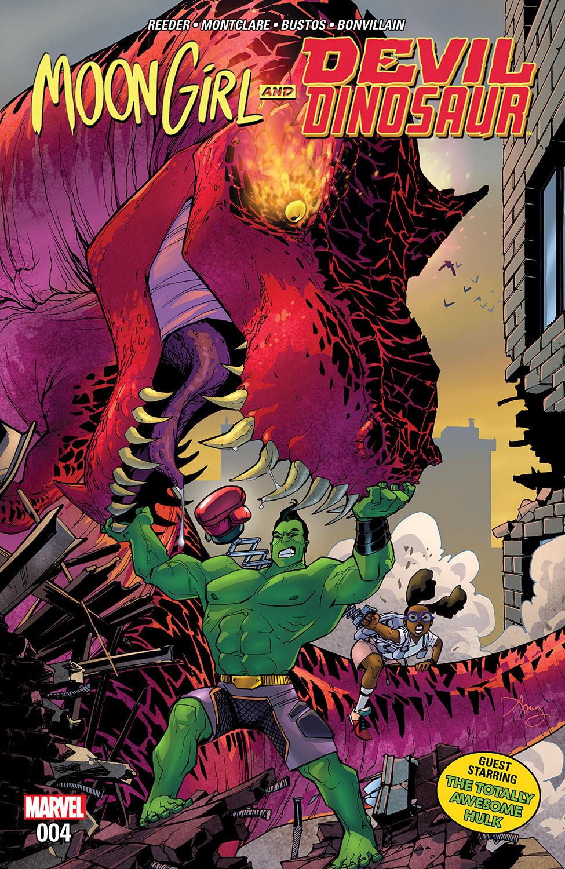 Moon Girl and Devil Dinosaur (2015) #4