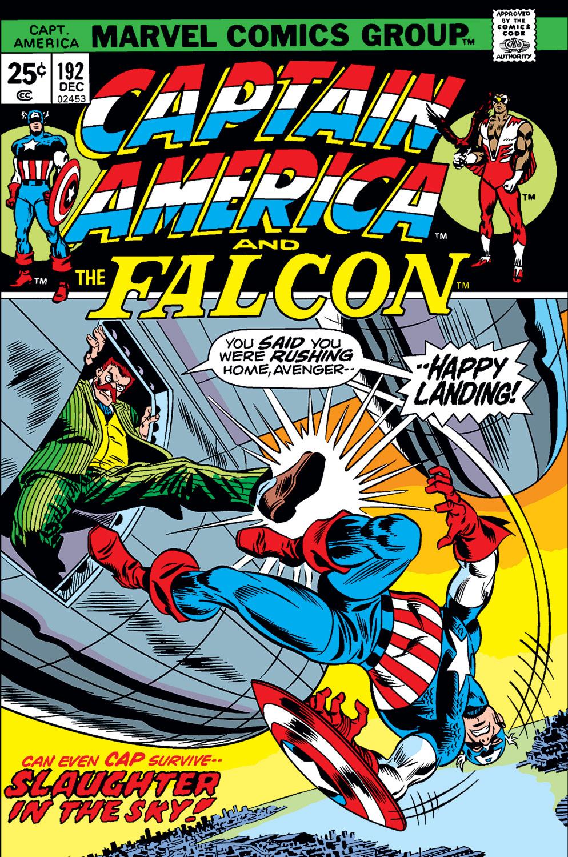 Captain America (1968) #192