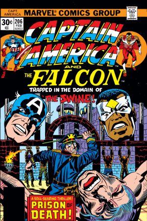 Captain America #206