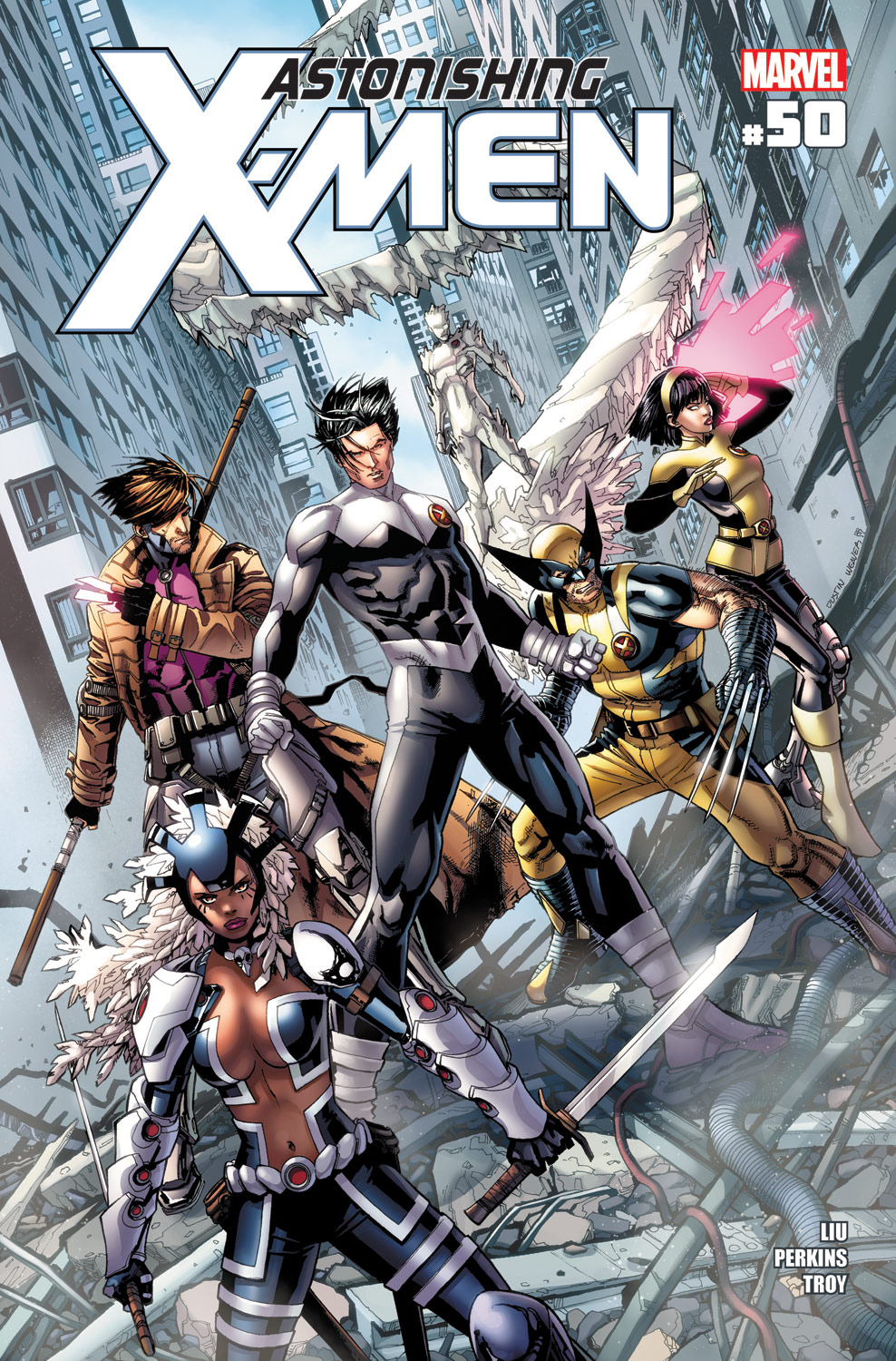 Astonishing X-Men (2004) #50