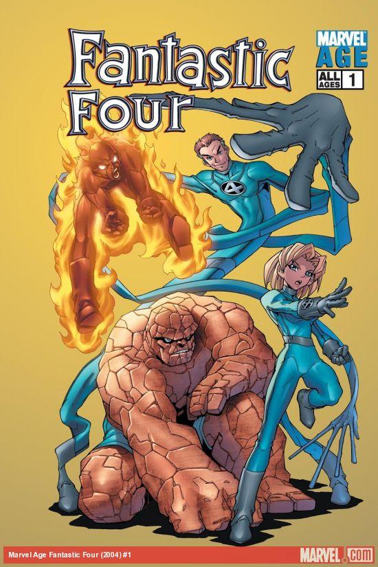 Marvel Age Fantastic Four (2004) #1