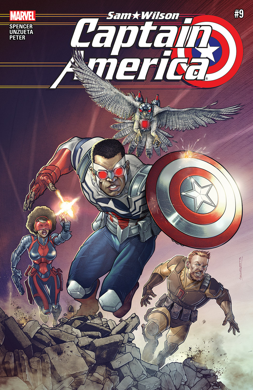 Captain America: Sam Wilson (2015) #9