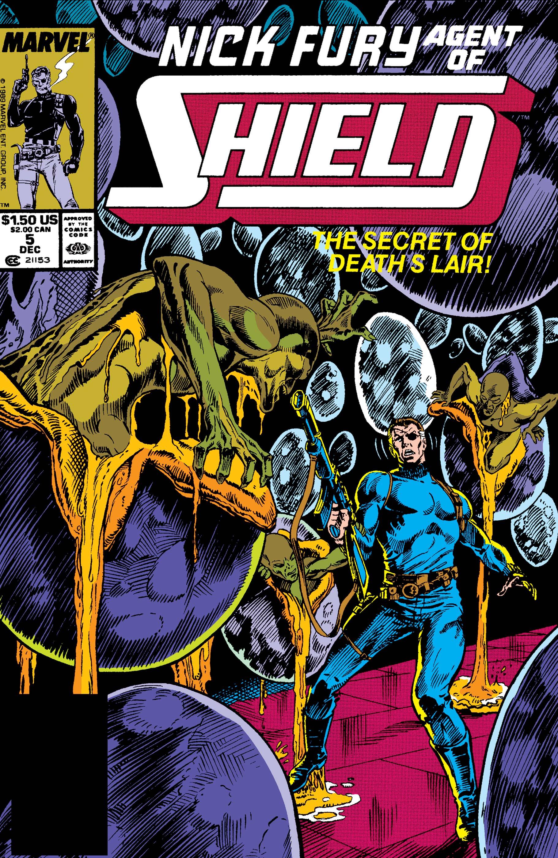 Nick Fury, Agent of S.H.I.E.L.D. (1989) #5