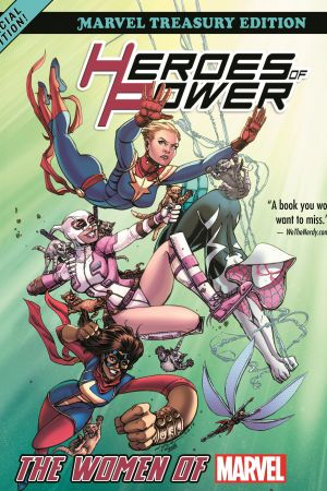 Heroes of Power: The Women of Marvel - All-New Marvel Treasury Edition (Trade Paperback)