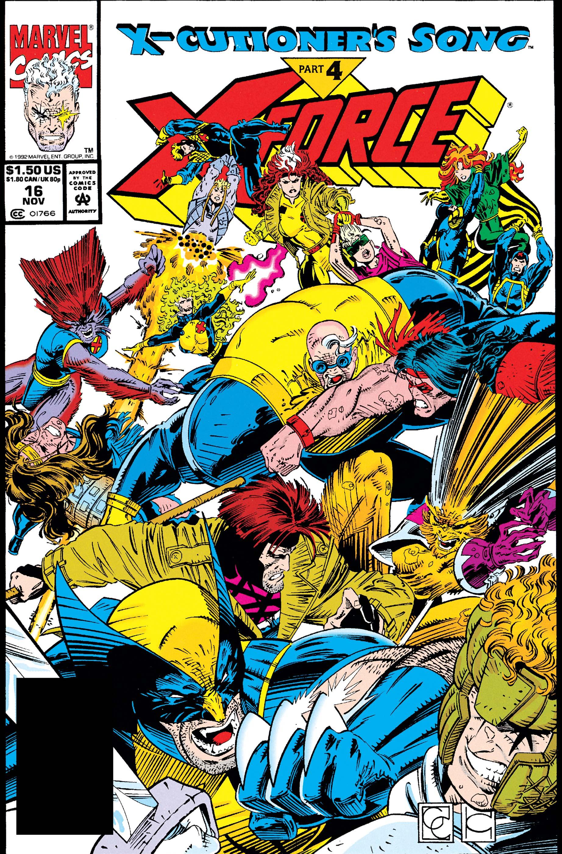 X-Force (1991) #16