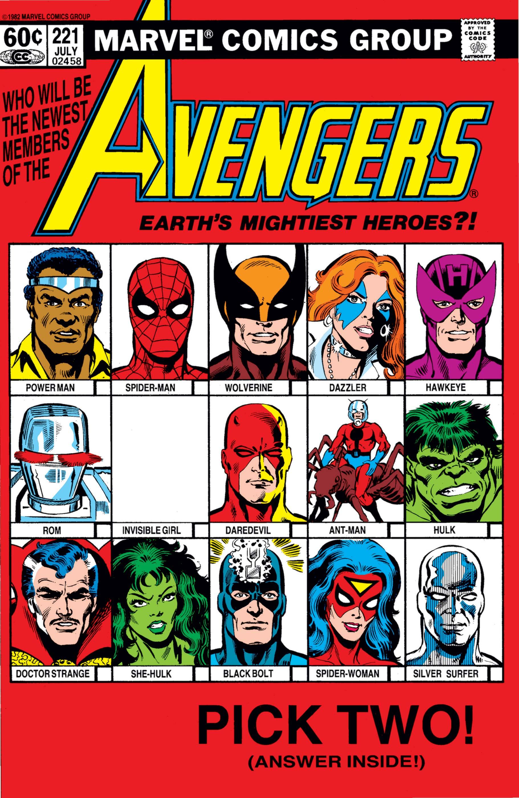 Avengers (1963) #221