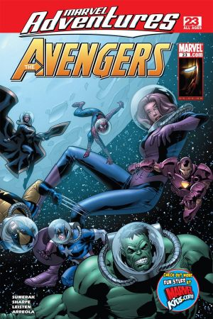 Marvel Adventures the Avengers #23