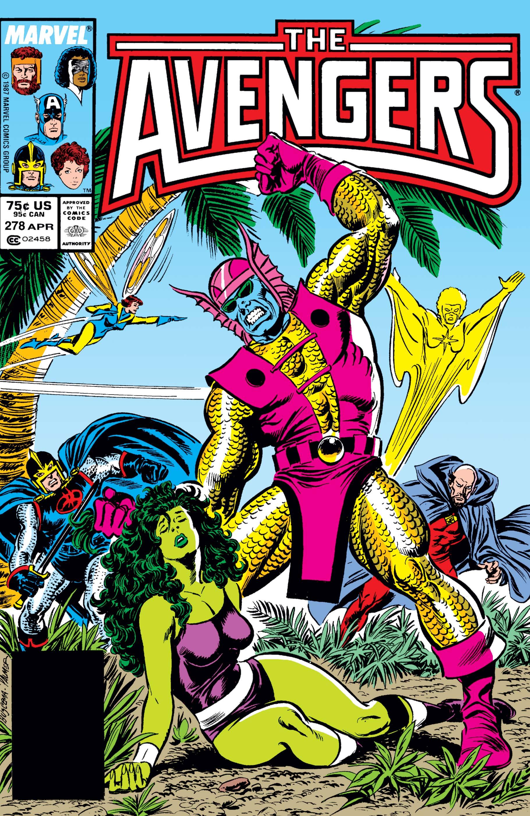 Avengers (1963) #278