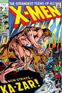 Uncanny X-Men (1963) #62
