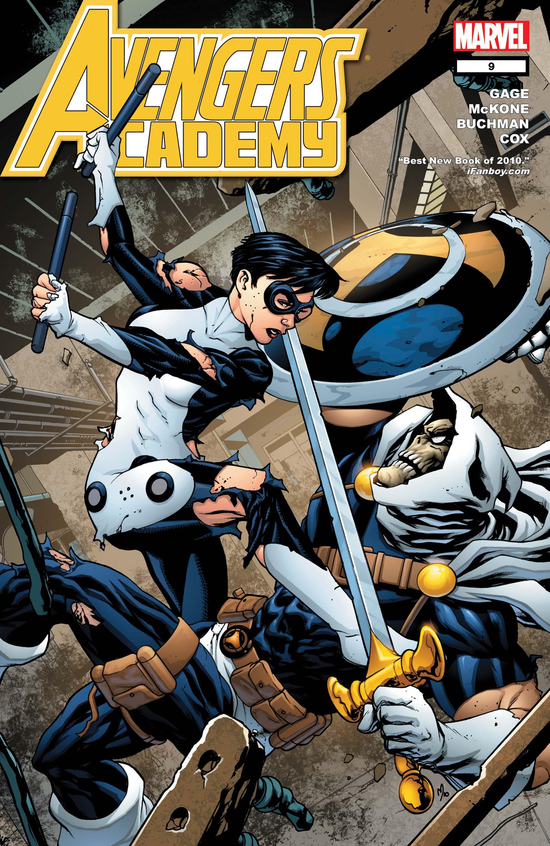 Avengers Academy (2010) #9