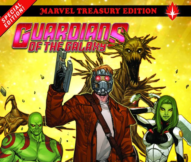 cover from Guardians of the Galaxy: All-New Marvel Treasury Edition (2017)