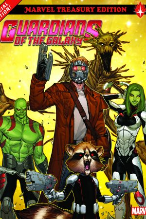 Guardians of The Galaxy: All-New Marvel Treasury Edition (Trade Paperback)