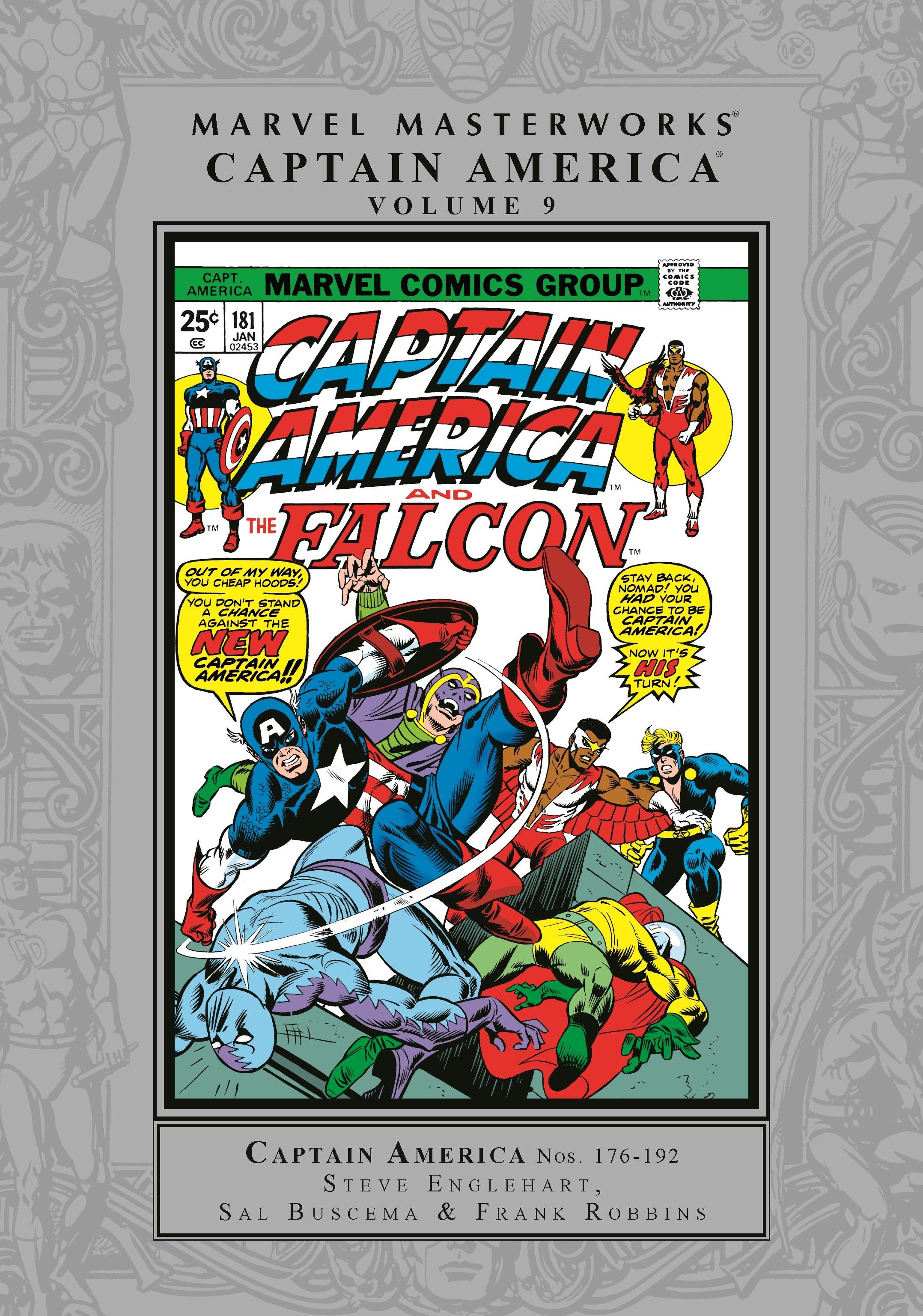 Marvel Masterworks: Captain America Vol. 9 (Hardcover)