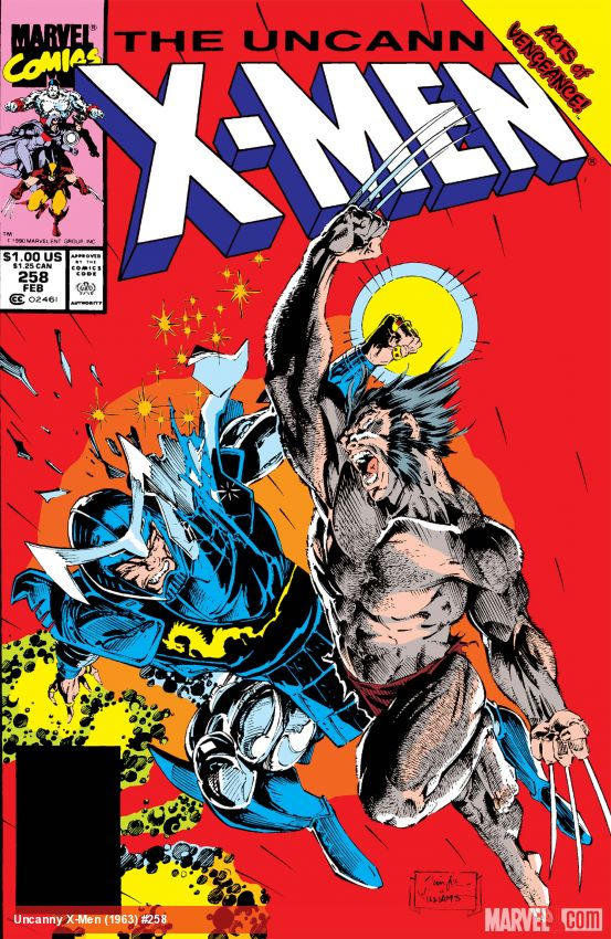 Uncanny X-Men (1963) #258
