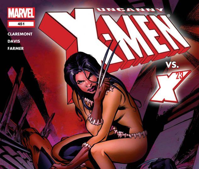 UNCANNY X-MEN (1963) #451