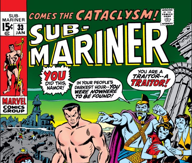 Sub-Mariner #33