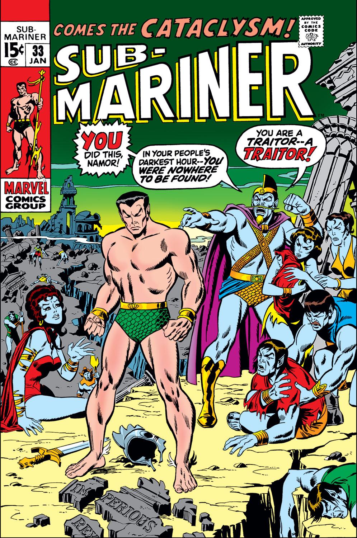 Sub-Mariner (1968) #33