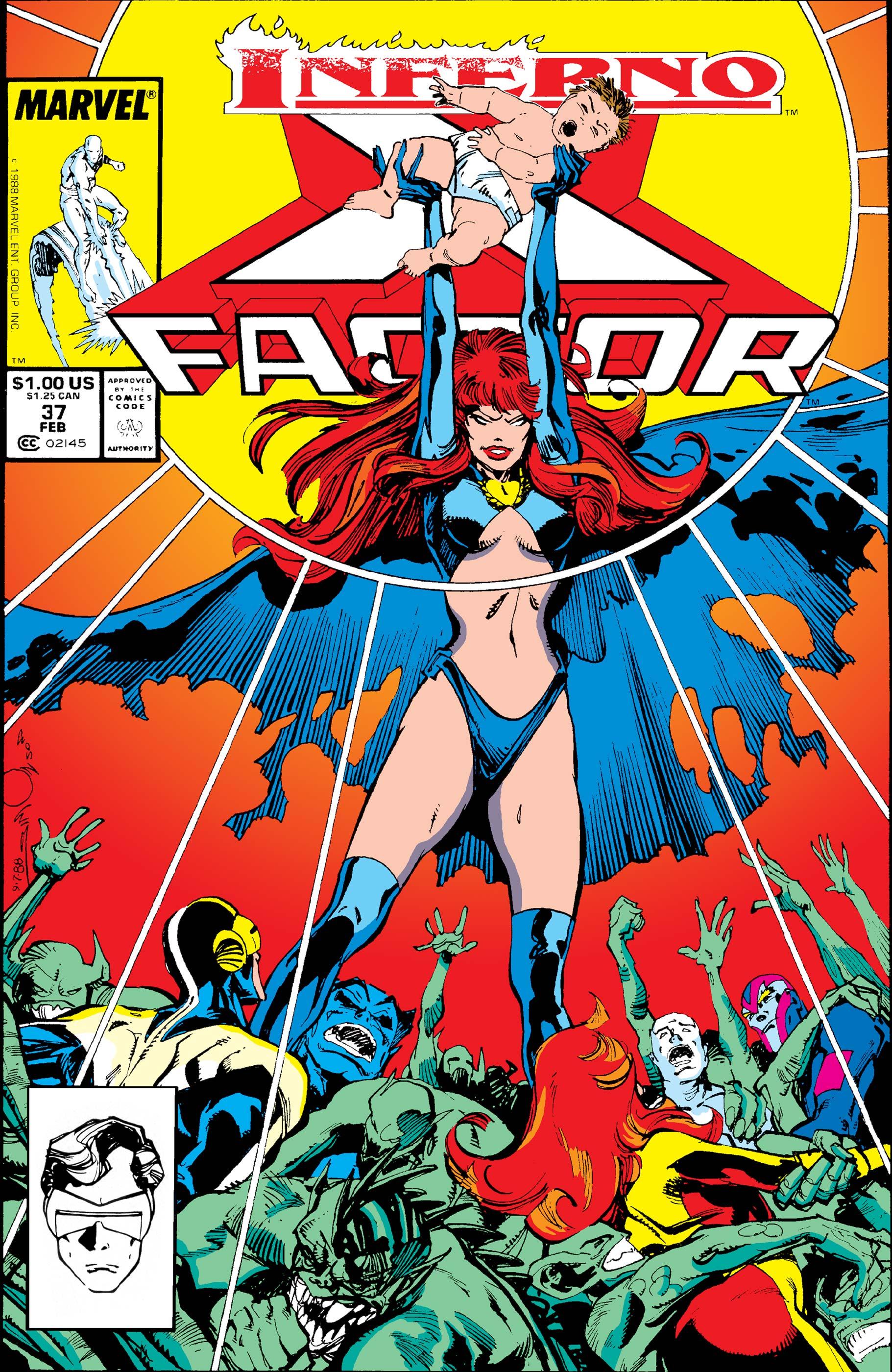 X-Factor (1986) #37
