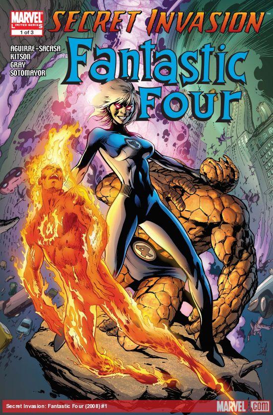 Secret Invasion: Fantastic Four (2008) #1