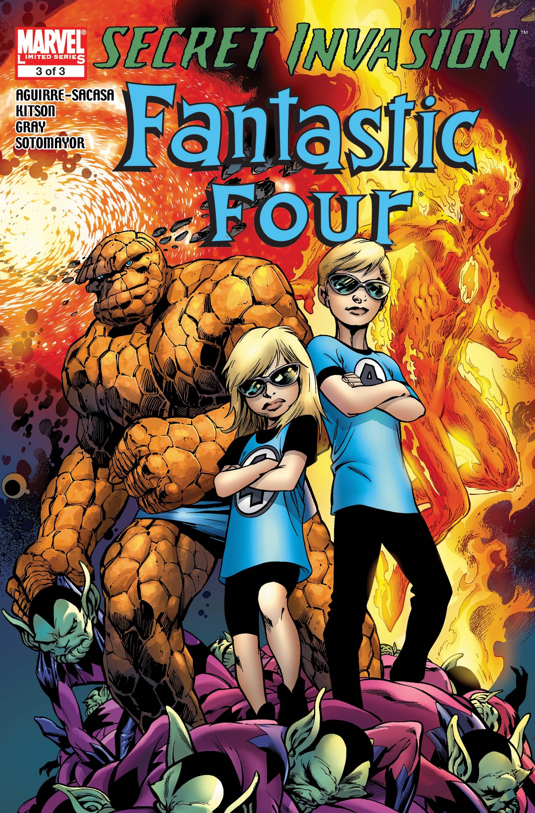 Secret Invasion: Fantastic Four (2008) #3