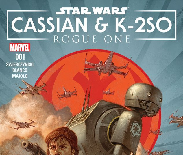 cover from Star Wars: Rogue One - Cassian & K2-so Annual (2017) #1
