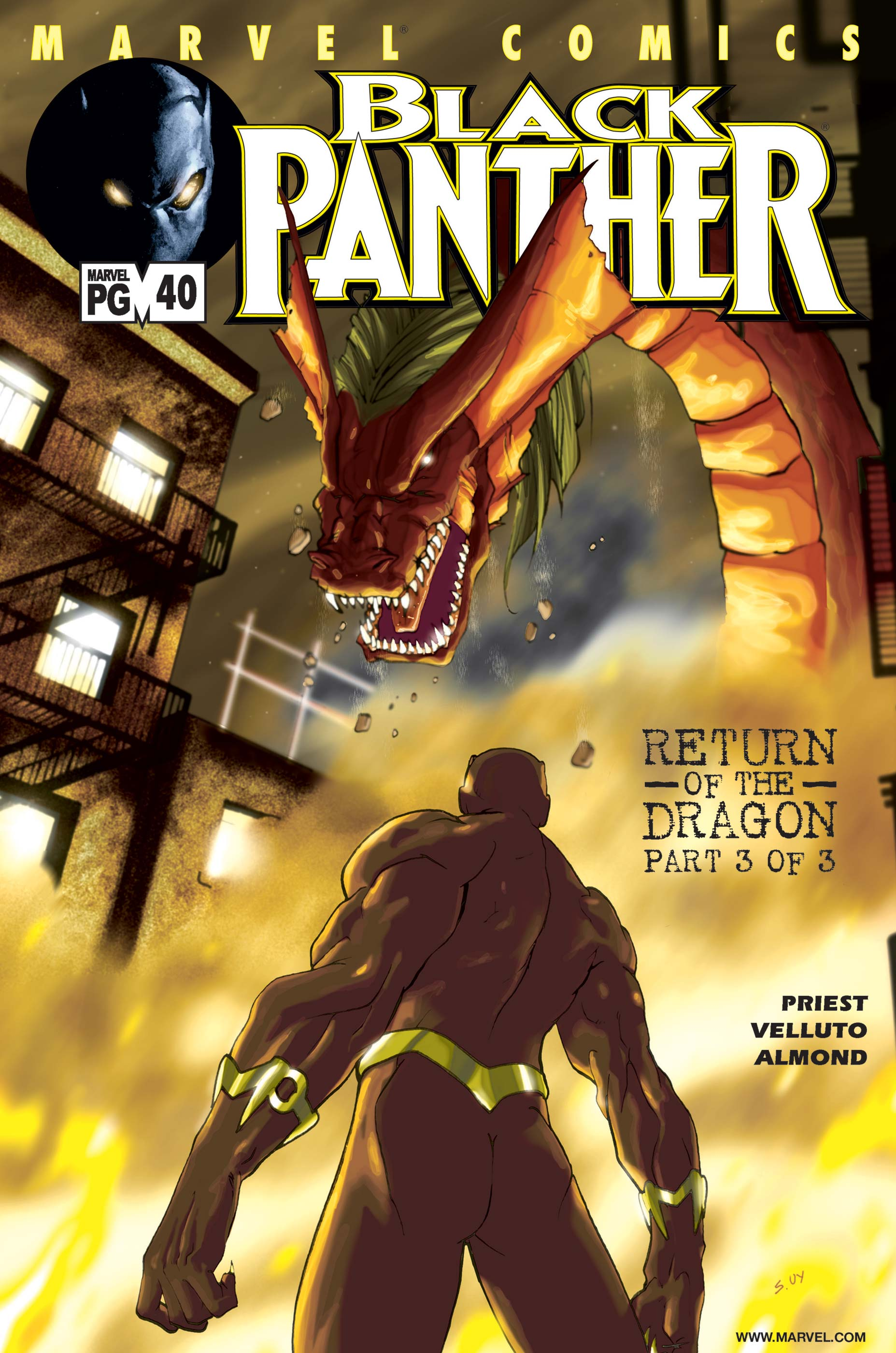 Black Panther (1998) #40
